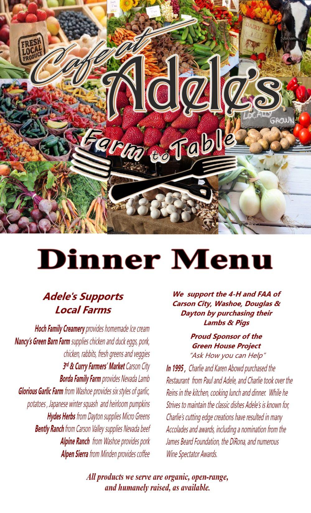 New Dinner Menu Cover 8-2017